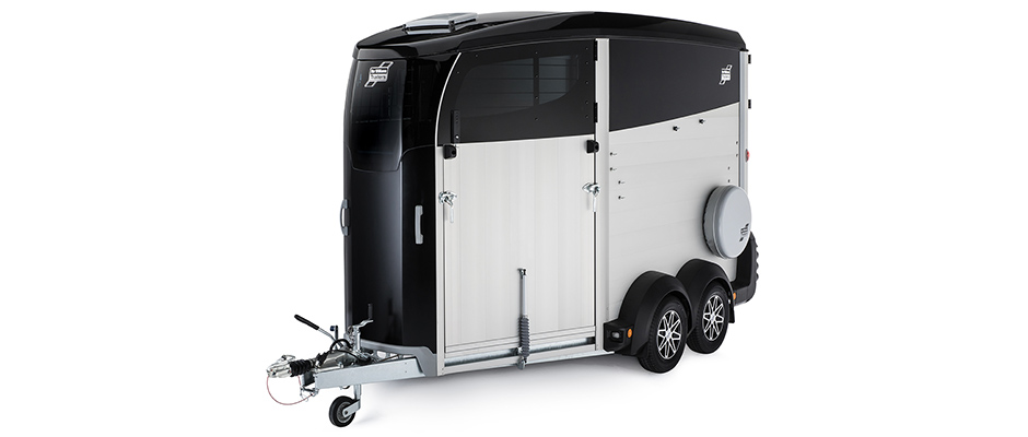 Ifor Williams Horsebox HBX Black