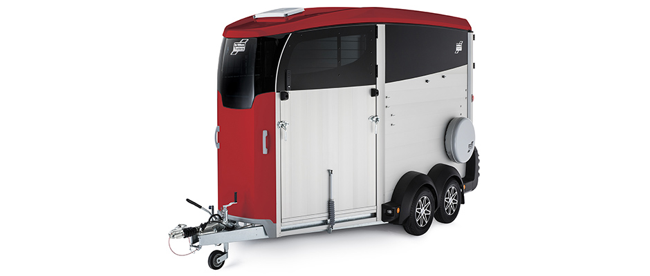 Ifor Williams Horsebox HBX Red
