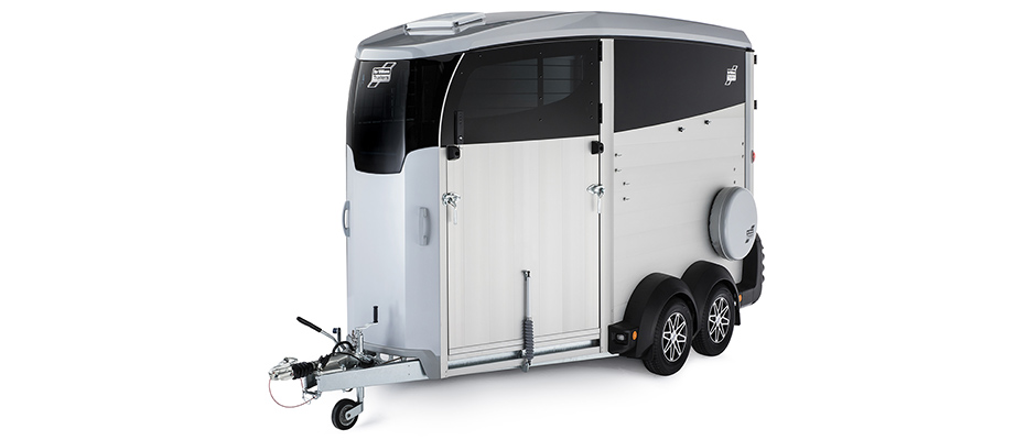 Ifor Williams Horsebox HBX Silver