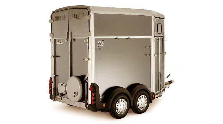 Silver Ifor Williams Horsebox HB403