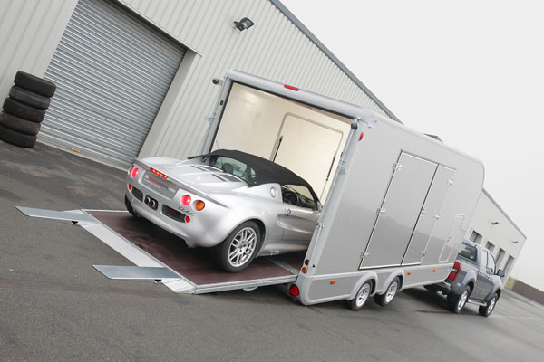 Ifor Williams Car Transporter
