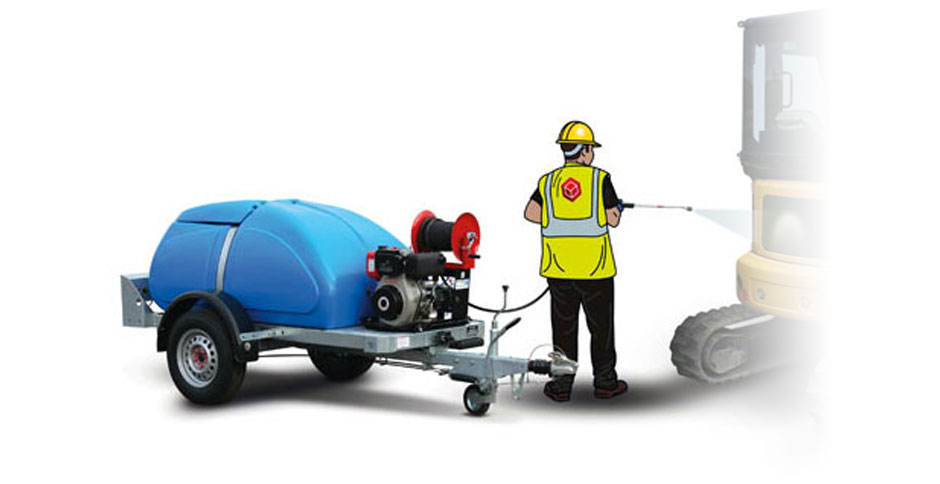 Poly Pressure Washer